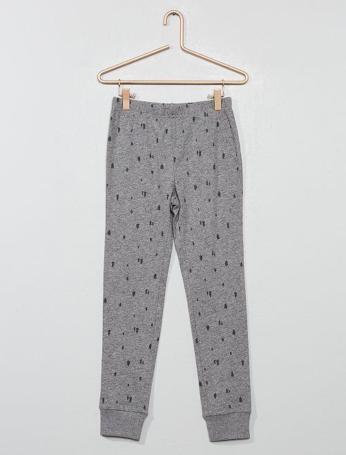 Pantalon de pyjama en jersey                             gris