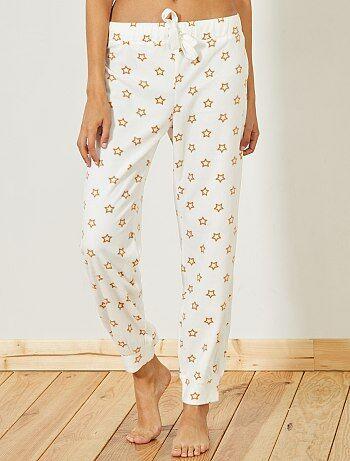 Pantalon de pyjama en polaire - Kiabi