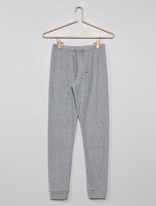 Pantalon de pyjama                             gris
