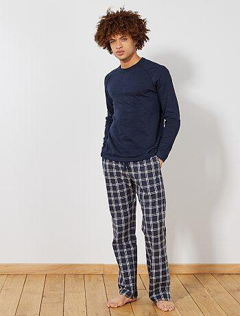 Soldes Pyjama Imprime Homme Kiabi
