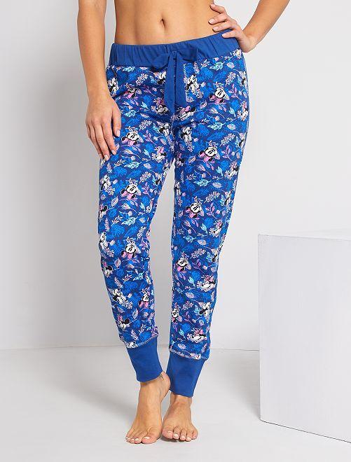 Pantalon de pyjama 'Minnie'                     bleu