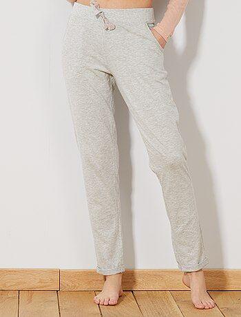 Pantalon de pyjama uni - Kiabi