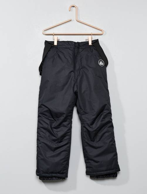 Pantalon de ski 'Longboard'                                         noir Garçon