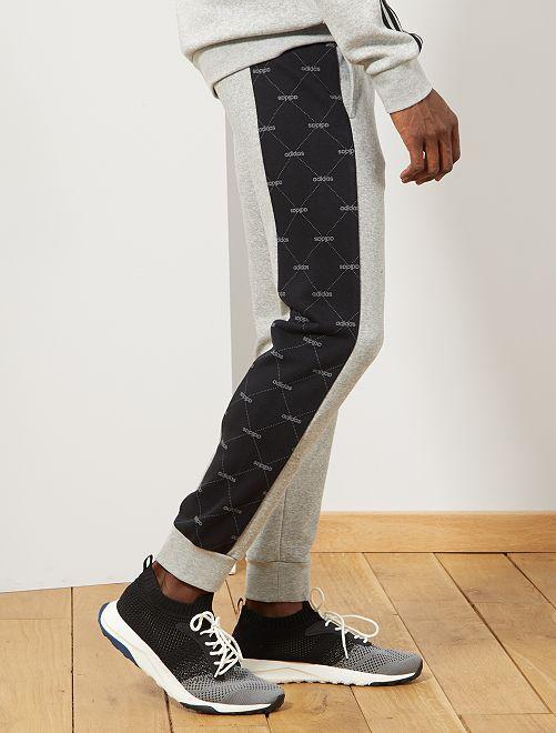 Pantalon de sport 'adidas'                             gris clair/noir