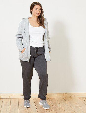 1d3260a6f24 Grande taille femme - Pantalon de sport détails brillants - Kiabi