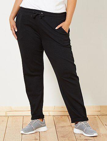 Grande taille femme - Pantalon de sport détails brillants - Kiabi