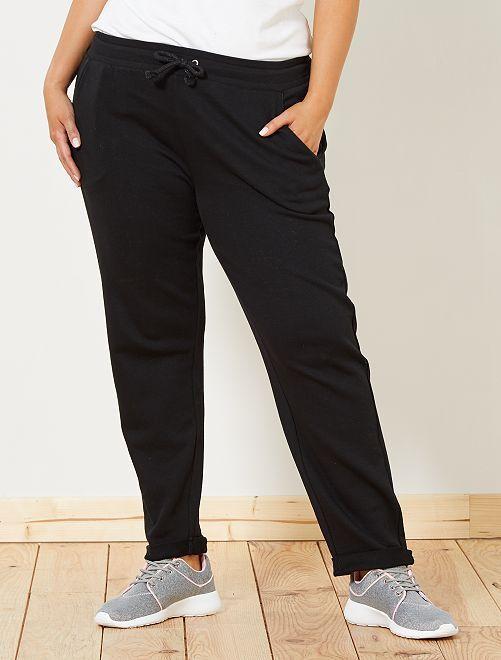 Pantalon de sport détails brillants                                                                 noir