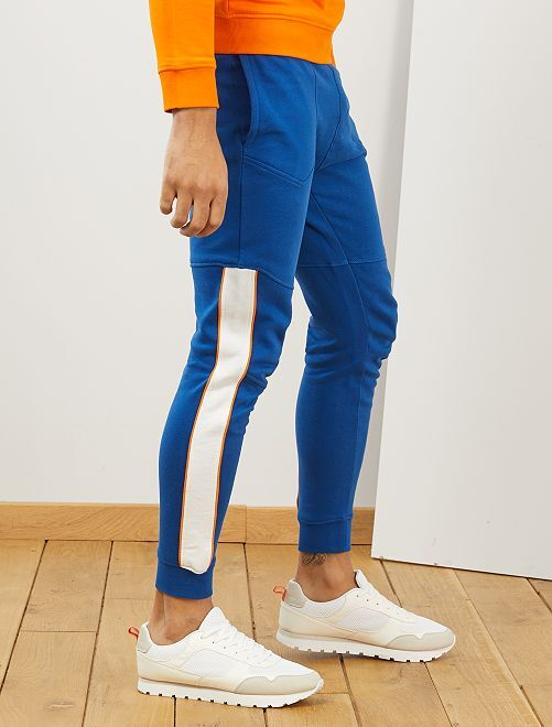 Pantalon de sport éco-conçu                     bleu