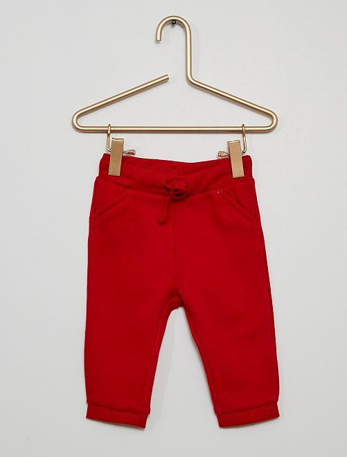 Pantalon de sport éco-conçu                                                                                         rouge