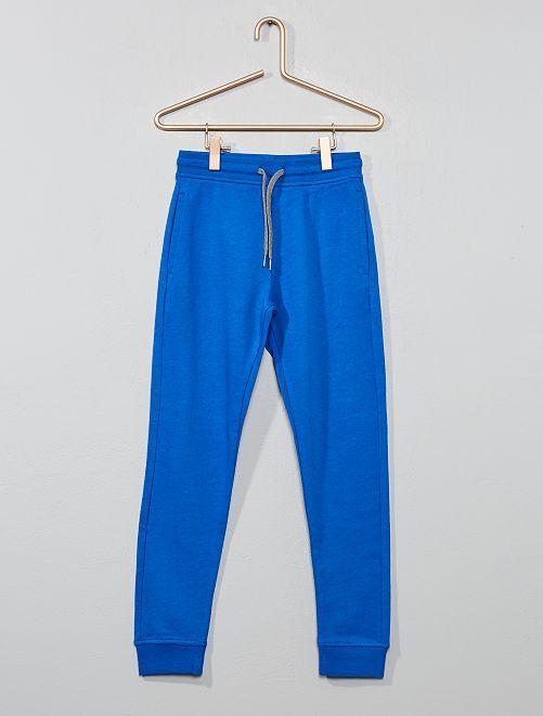 Pantalon de sport en molleton                                                                                                                                                                                                                 bleu