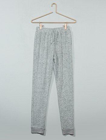 Pantalon de sport en molleton `doudou`