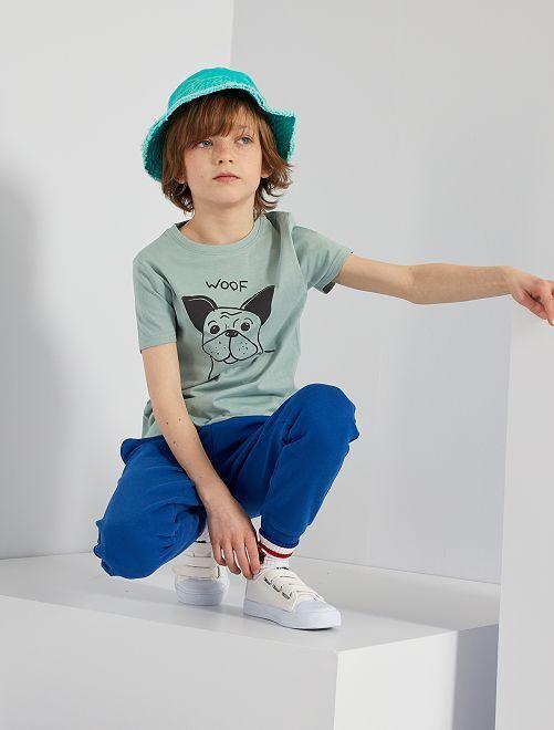 Pantalon de sport en molleton 'éco-conçu'                                                                                                                                                                                                                 bleu