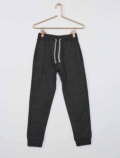 Pantalon de sport en molleton 'éco-conçu'                                                                                                                                                                                                                 gris foncé