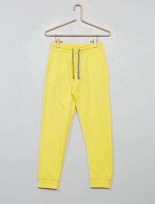 Pantalon de sport en molleton 'éco-conçu'                                                                                                                                                                                                     jaune soleil