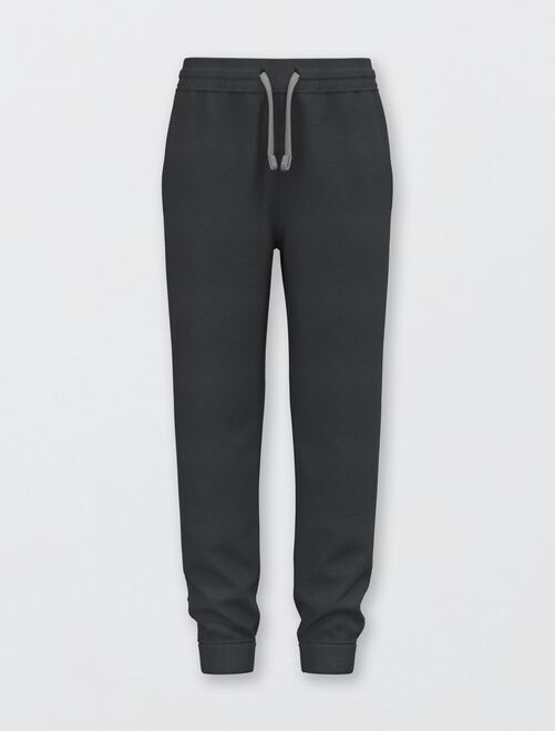 Pantalon de sport en molleton 'éco-conçu'                                                                                                                                                                                                     noir