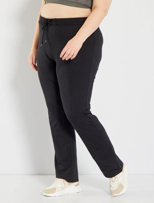 Pantalon de sport en molleton éco-conçu                             noir