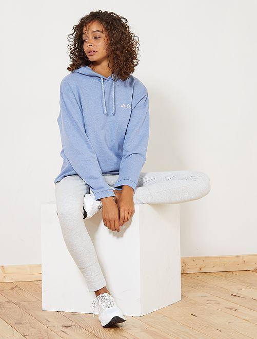 pantalon de sport en molleton femme kiabi 10 00. Black Bedroom Furniture Sets. Home Design Ideas