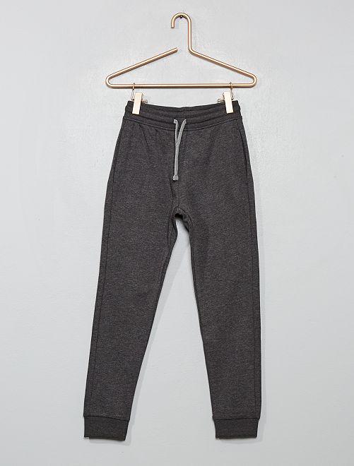 Pantalon de sport en molleton                                                                                                                                                                                                                                         gris chiné