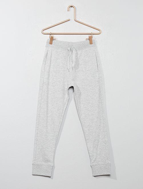 Pantalon de sport en molleton                                                                                                                                                                             gris Garçon