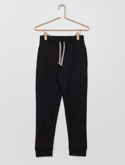 Pantalon de sport en molleton                                                                                                                                                                 noir Garçon