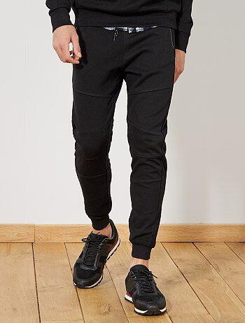 Pantalon de sport en piqué de coton