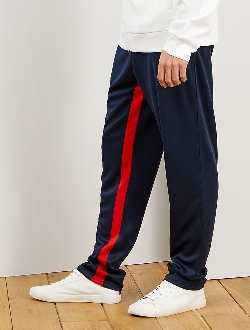 Pantalon de sport esprit vintage                             bleu marine