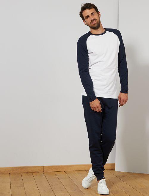 Pantalon de sport L38 +1m90                             bleu pétrole