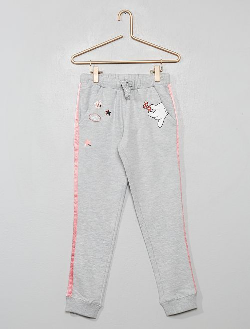 Pantalon de sport 'Minnie'                             gris chiné