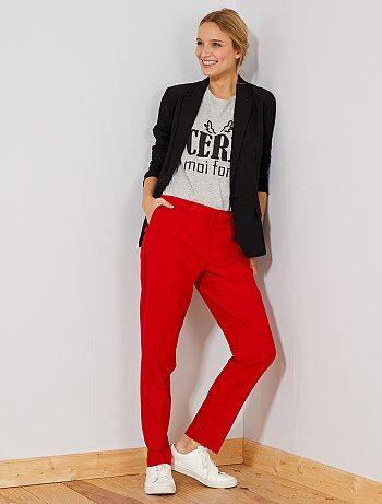 Pantalon de ville droit - Kiabi
