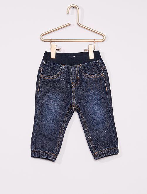 Pantalon denim éco-conçu                             denim