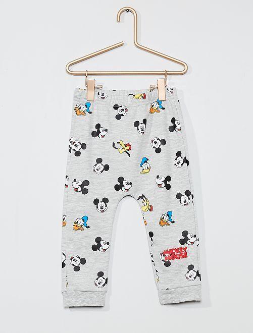 Pantalon 'Disney'                                         gris chiné