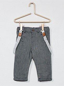 Garçon 0-36 mois - Pantalon doublé coton - Kiabi