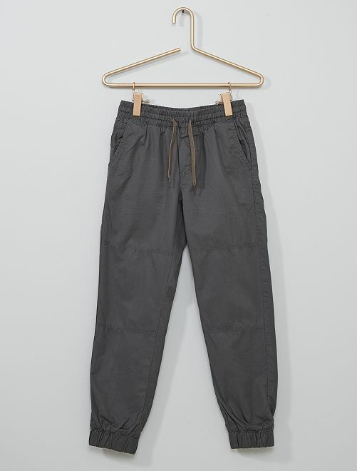 Pantalon doublé                                                     gris foncé