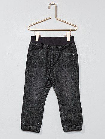 Pantalon doublé pur coton