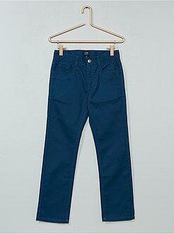 Pantalon - Pantalon droit en twill