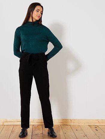 Pantalon droit fluide 'JDY' - Kiabi