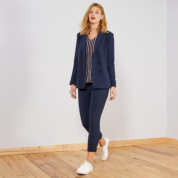 Pantalon droit style tailleur Femme - Kiabi