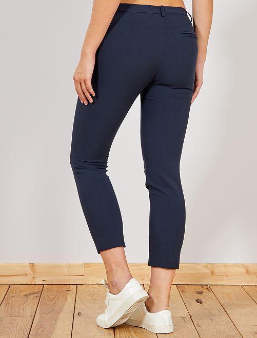 187b476bada Pantalon droit style tailleur Femme - rouge - Kiabi - 15