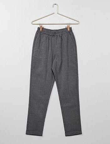 Pantalon droit style tailleur - Kiabi
