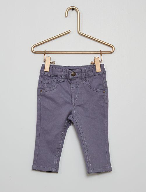 Pantalon éco-conçu                                                                                                                             bleu gris