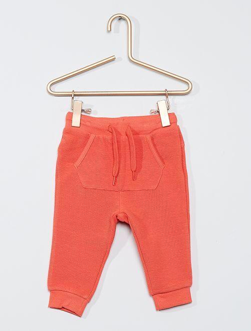 Pantalon éco-conçu                     corail