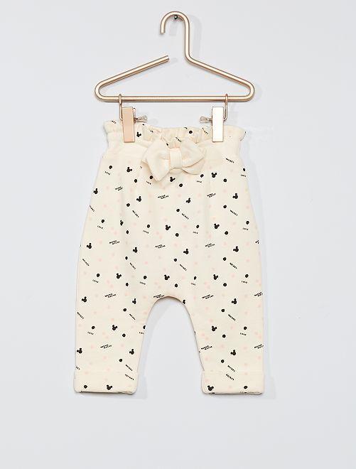 Pantalon éco-conçu 'Disney Baby'                             écru