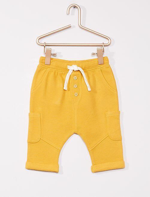 Pantalon éco-conçu                                                     JAUNE