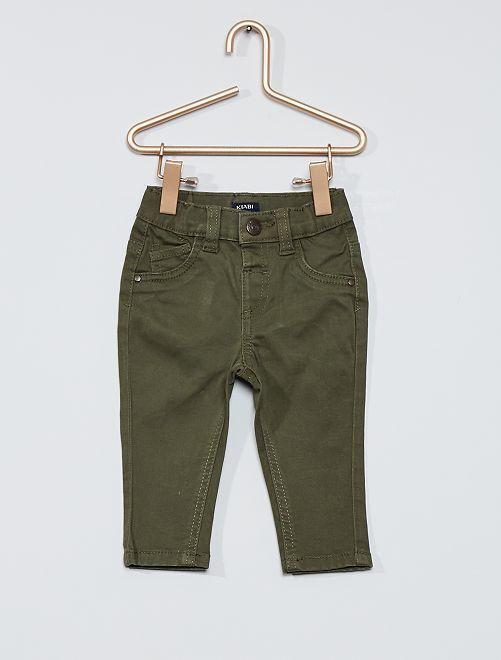 Pantalon éco-conçu                                                                             kaki