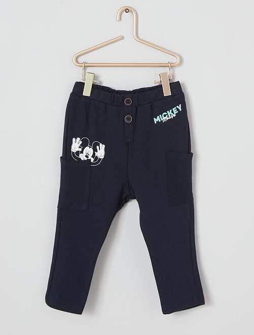 Pantalon éco-conçu 'Mickey'                             bleu