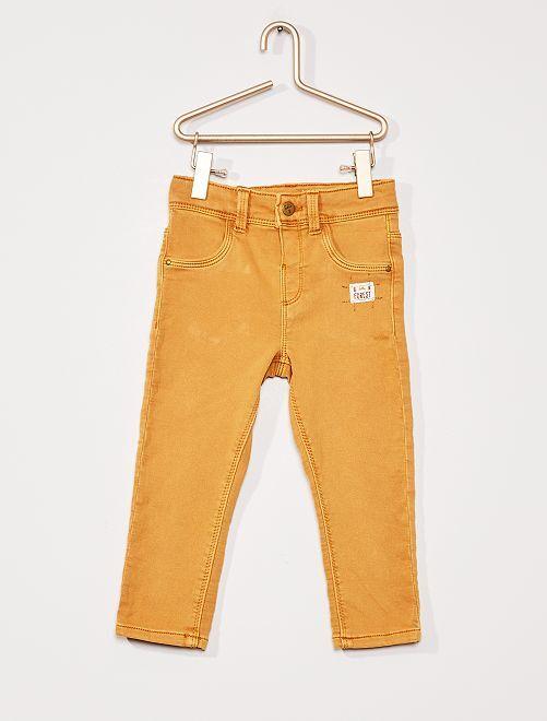 Pantalon éco-conçu                                         moutarde
