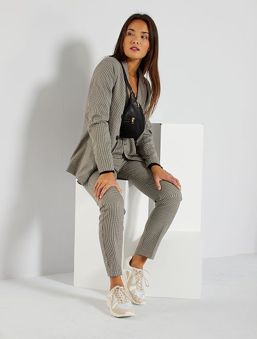 Pantalon écossais                                                     gris