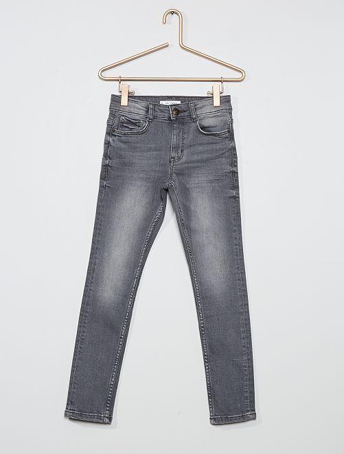 Pantalon en denim                                                                 gris
