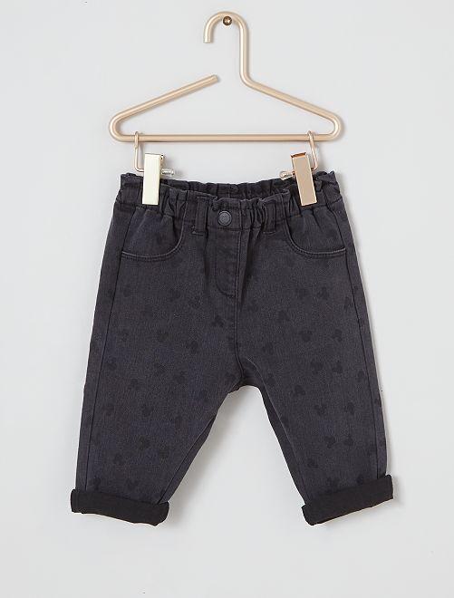 Pantalon en denim 'Minnie'                             noir