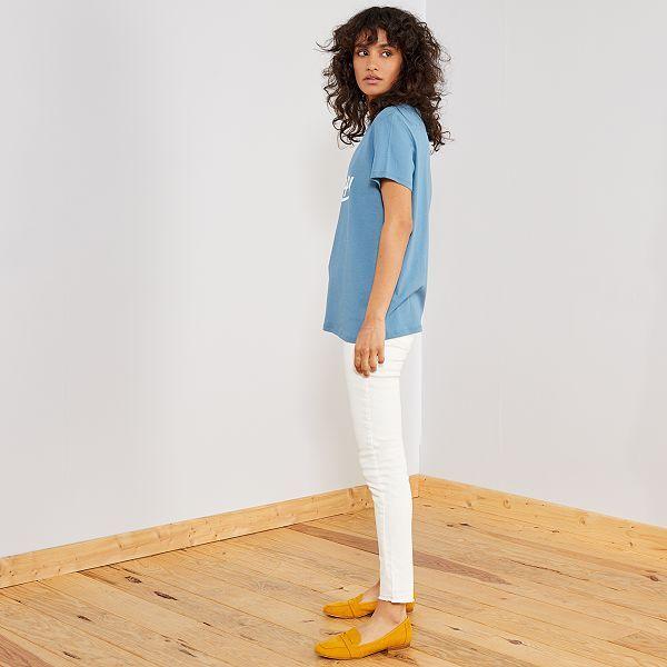 plus bas rabais dernière sélection variété de dessins et de couleurs Pantalon en denim skinny